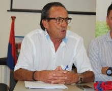 Domingo Gil presenta su candidatura a la presidencia de la UD Lanzarote