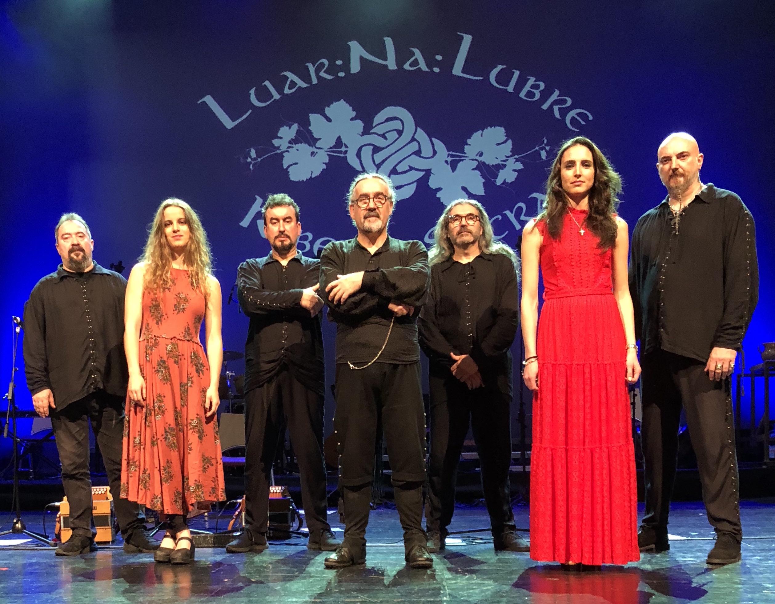 Luar Na Lubre, la banda de referencia del folk gallego, participa en el cartel de artistas del Festival 'BIO RITMOS' 2019 en Costa Teguise