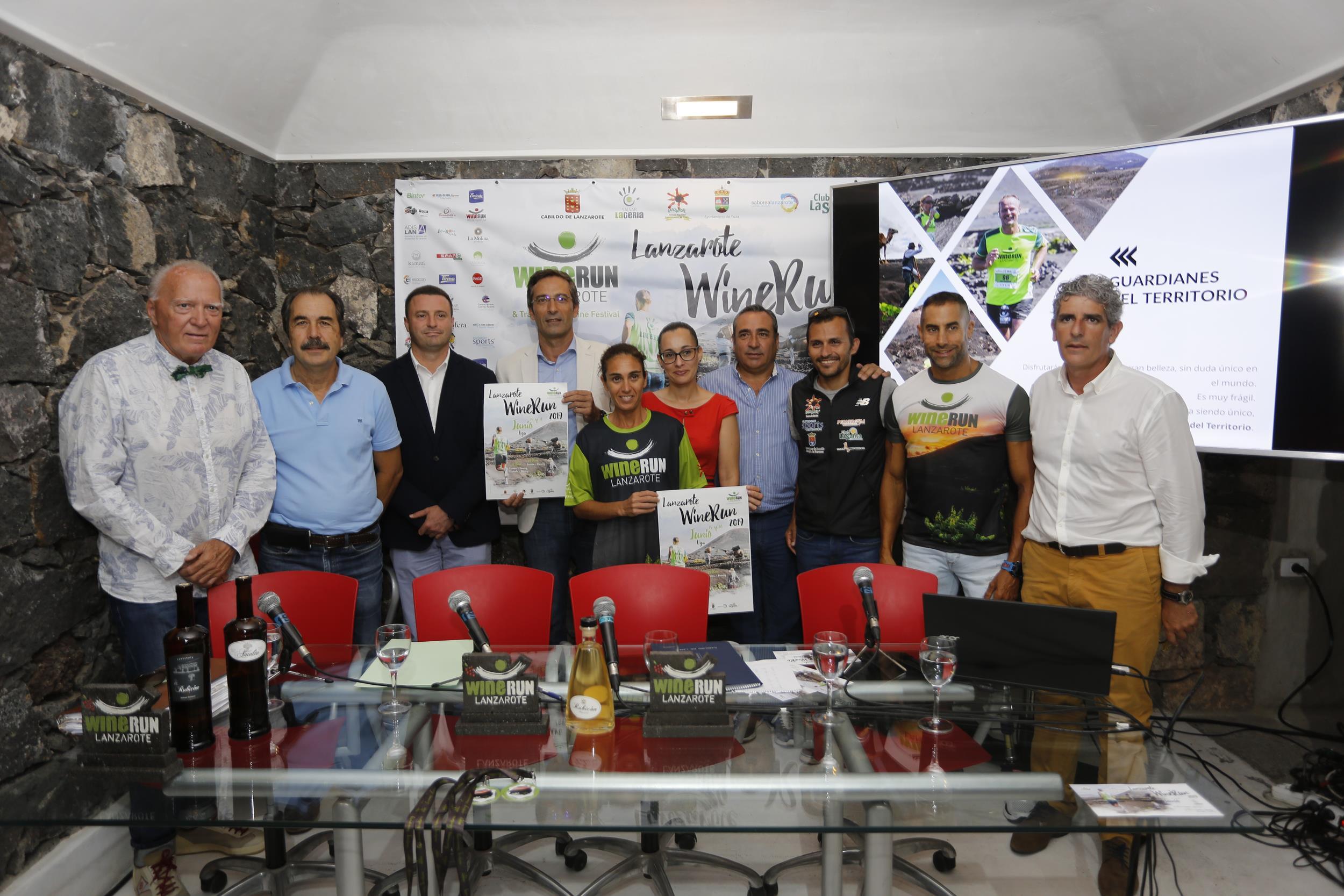 Aroa Merino y los olímpicos Lionel Morales y José Carlos Hernández participarán en la 'Lanzarote Wine Run' que se celebra el 16 de junio
