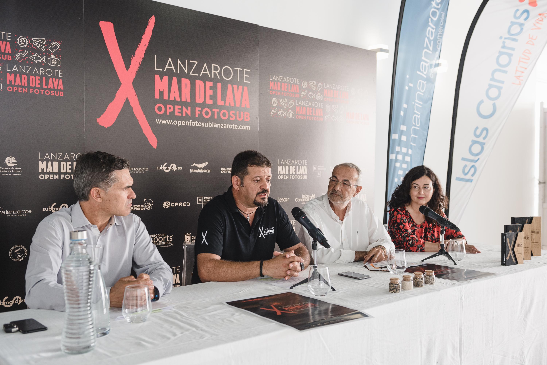 El Open Fotosub Lanzarote Mar de Lava' celebrará su décimo aniversario repartiendo premios por valor de 15.000 euros