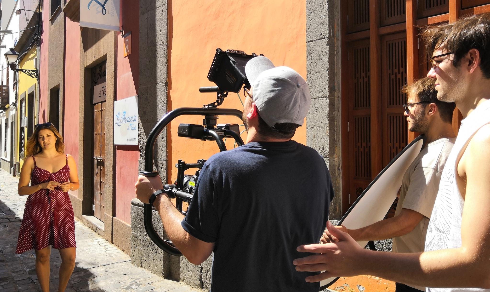 Cristina Ramos, protagonista de un reportaje de la televisión británica ITV