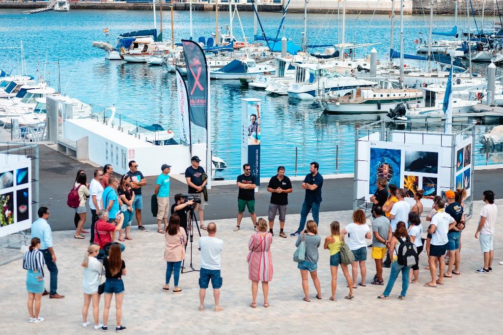 La décima edición del 'Open Fotosub Lanzarote Mar de Lava' ya comenzó y el sábado se conocerán los ganadores