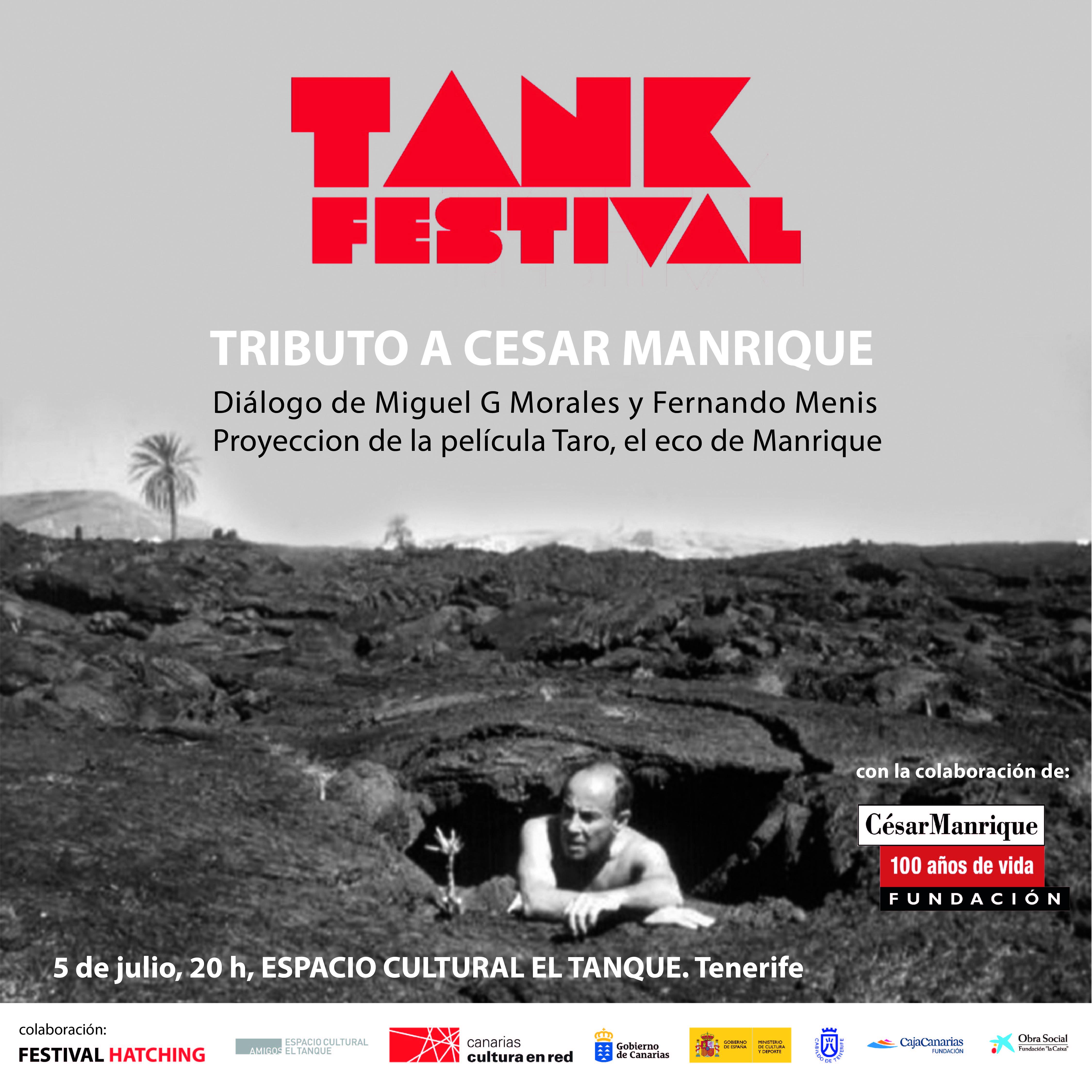 Tributo a César Manrique en el Tank Festival 2019