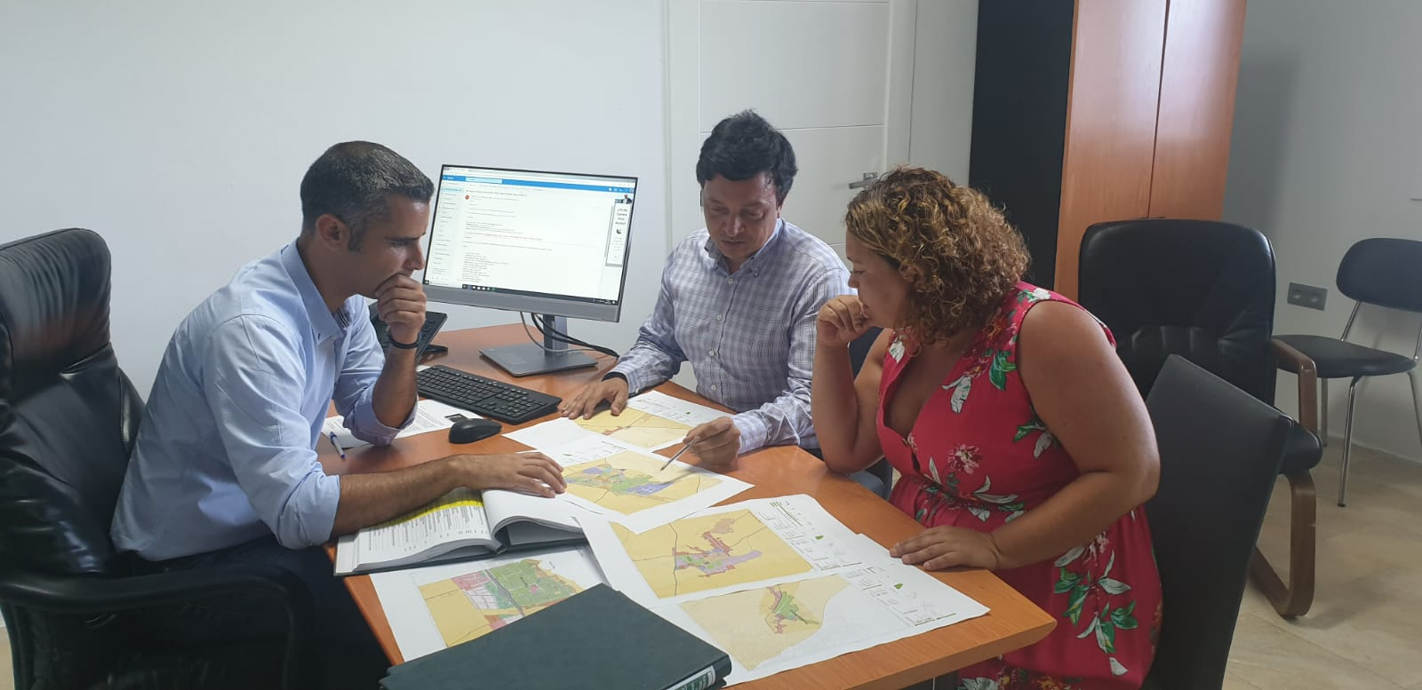 Alexis Tejera establece como prioridad dar celeridad a la aprobación del Plan General de San Bartolomé