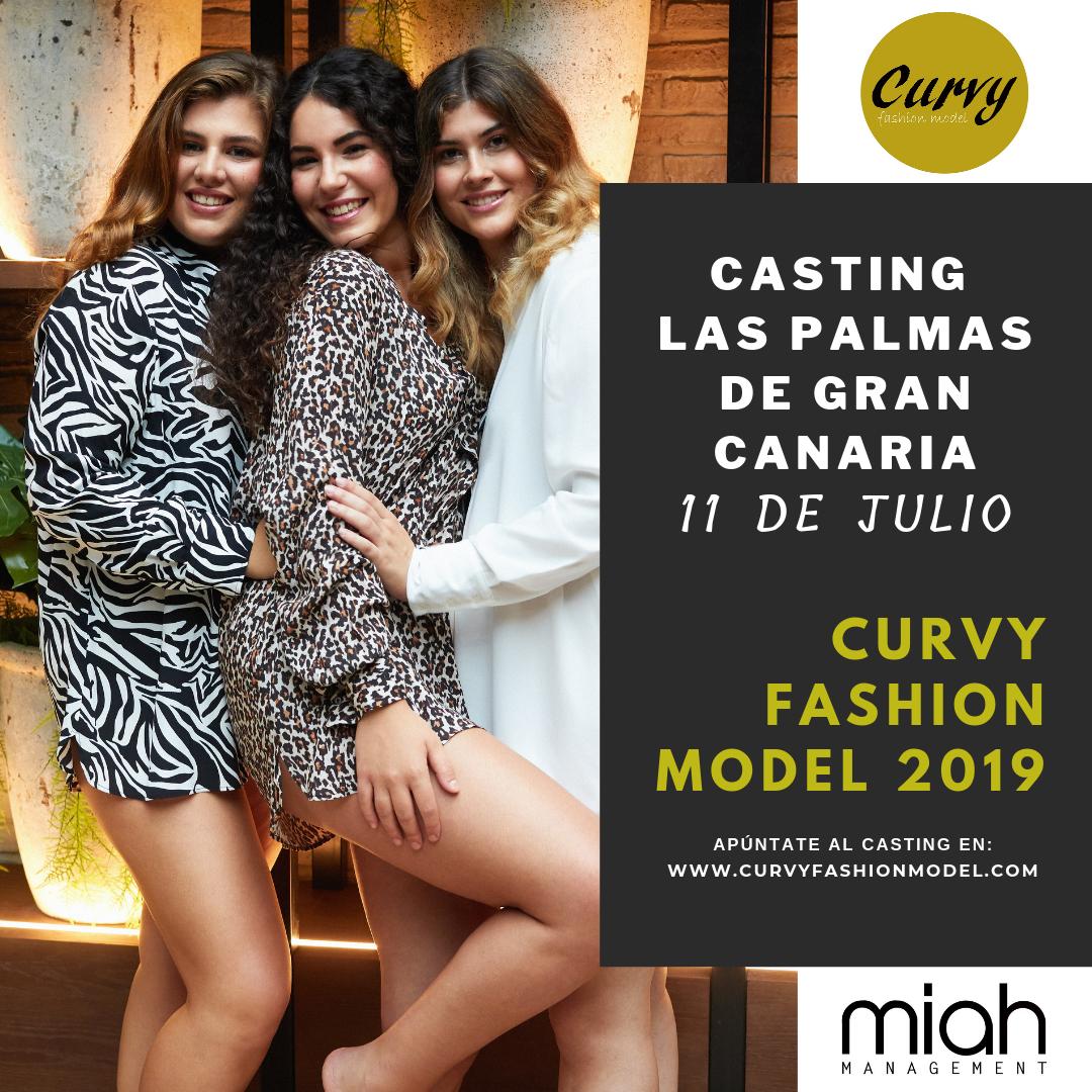 Empizan los casting profesionales Curvy Fashion Model 2019