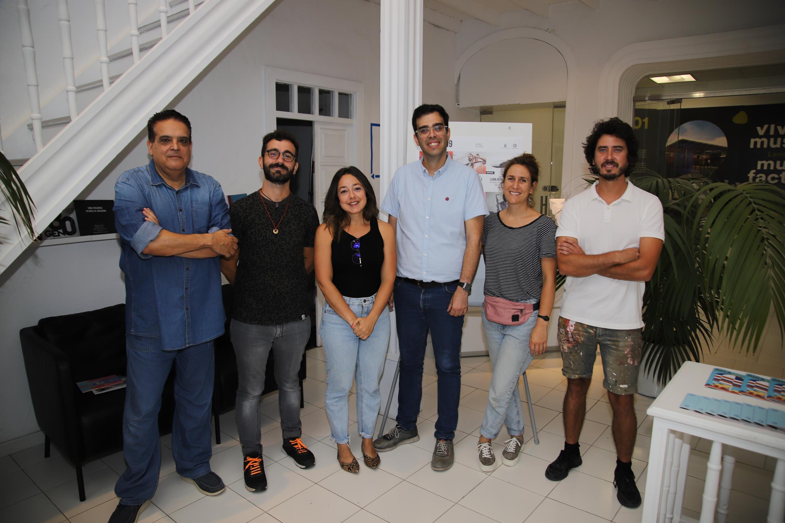 Luna Bengoechea, Daniel Jordán y Damián Rodríguez muestran su últimas obras en el CIC El Almacén