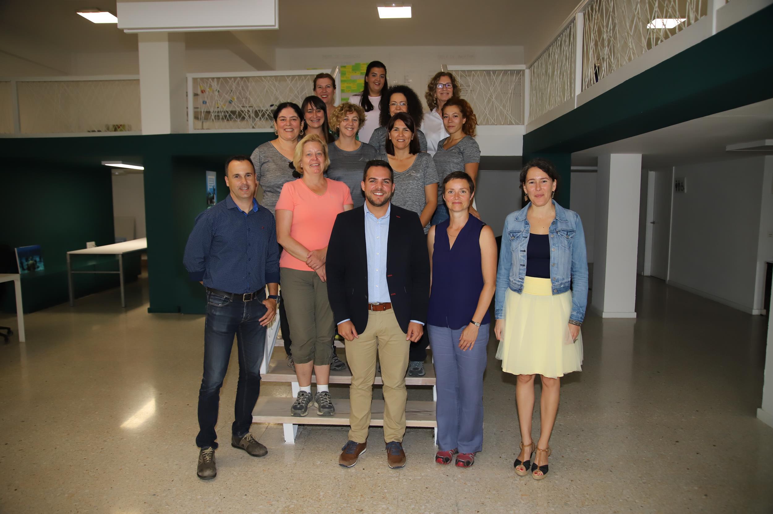 Especialistas de la Red Global de Geoparques de la UNESCO visitan Lanzarote para evaluar la candidatura