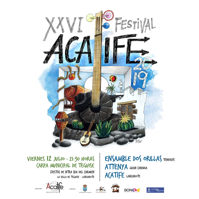 Teguise acoge la XXVI edición del Festival Acatife