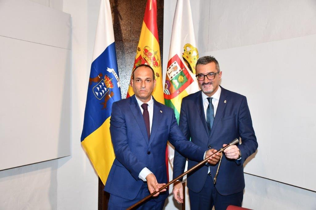 Alfredo Villalba, nuevo alcalde de Haría