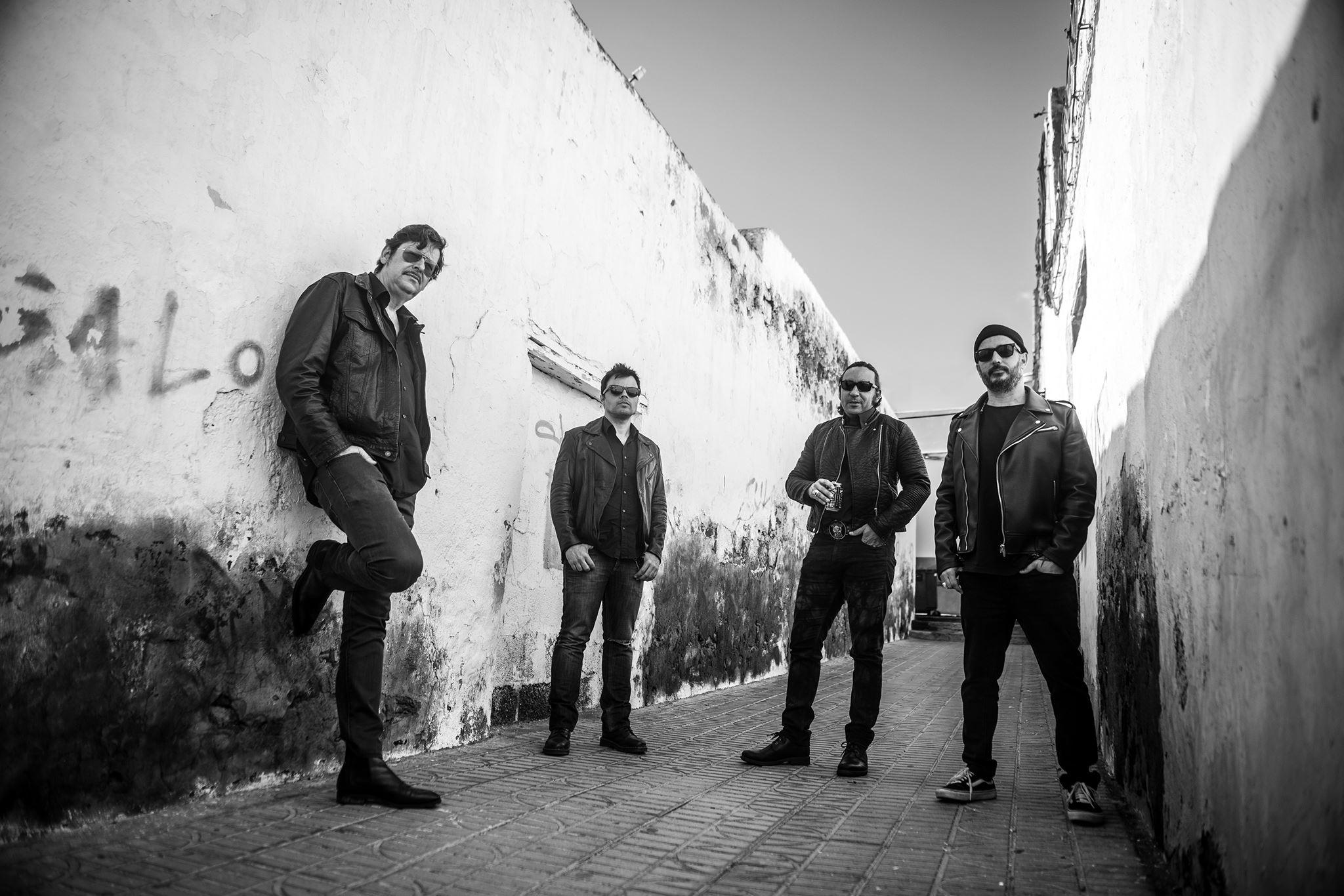 El grupo de rock Los Verbenas estrena el videoclip de «Tus balas»