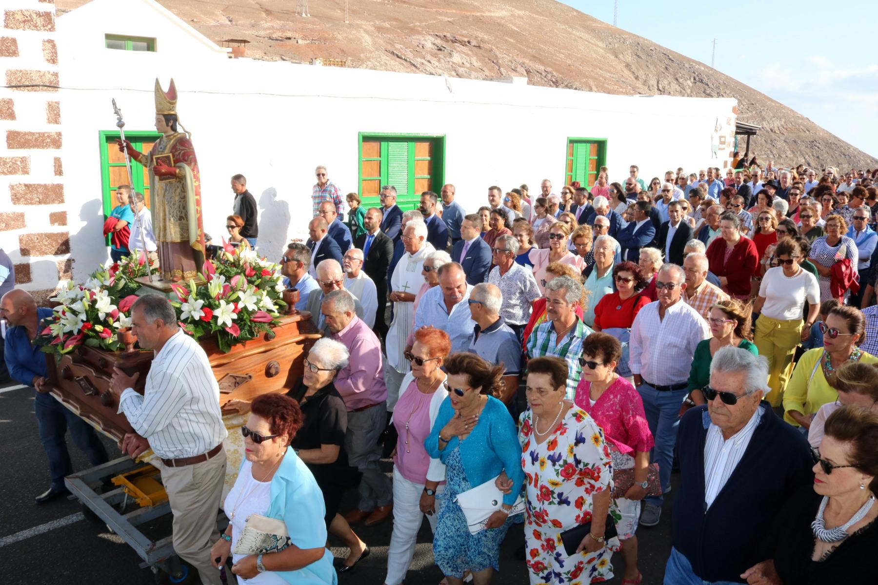 Femés se vuelca con San Marcial en su Día Grande