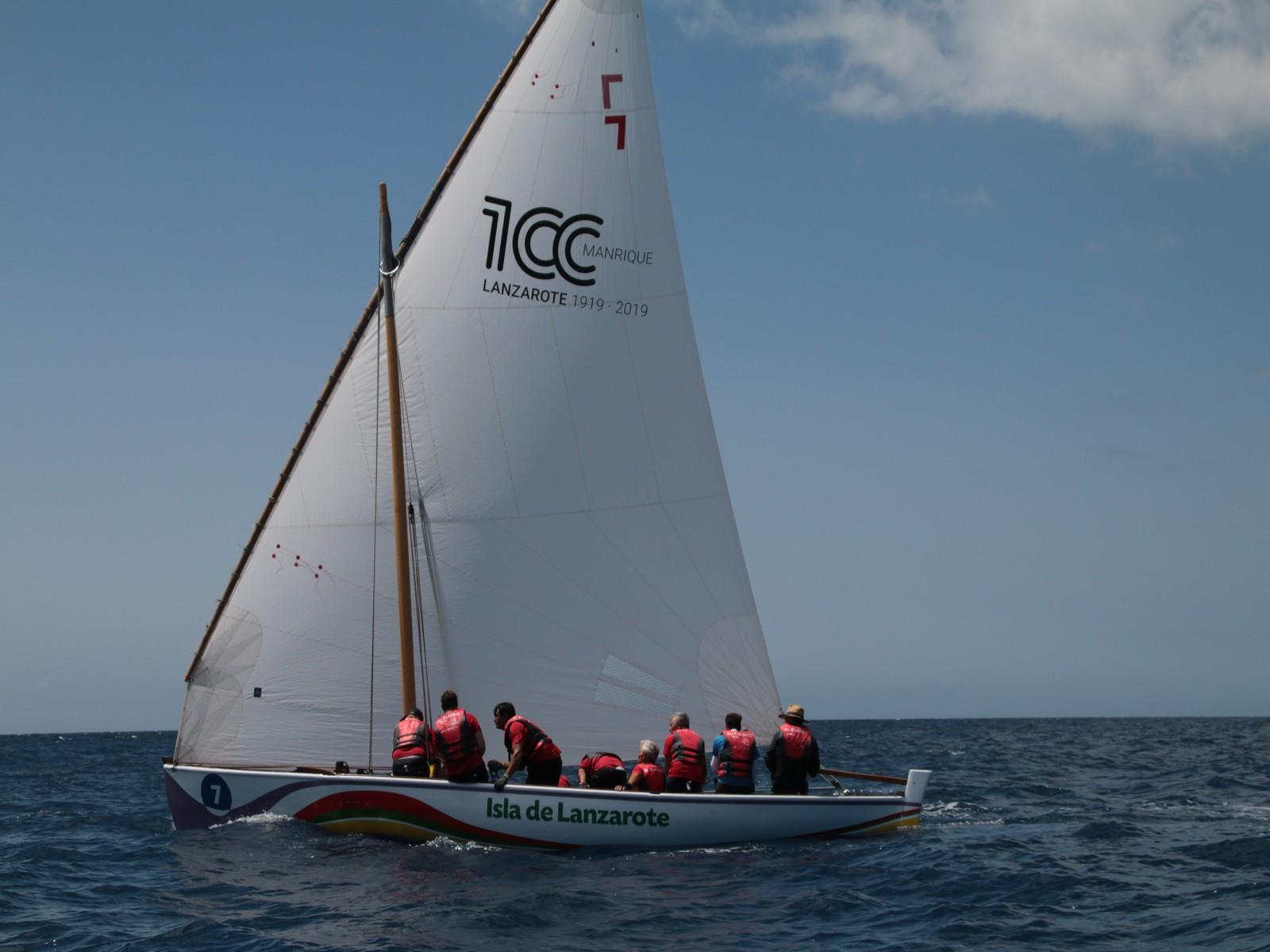 El Puerto del Arrecife campeón de la Liga Insular de Barquillos de 8,55 Metros