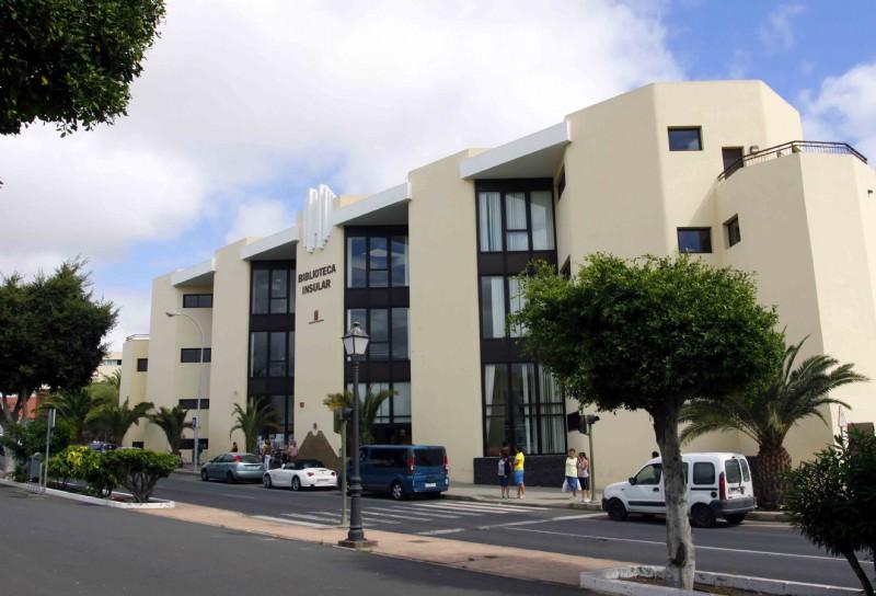La Biblioteca Insular abrirá en horario reducido por las obras de adecuación y mejora de sus instalaciones
