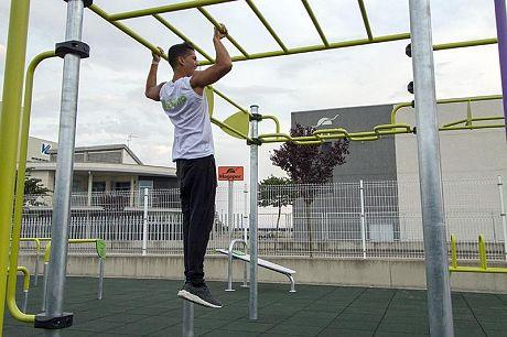 Titerroy pide un parque de Street Workout y calistenia  para el barrio