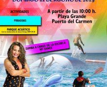 Cita de jóvenes en Playa Grande para celebrar el Día Internacional de la Juventud