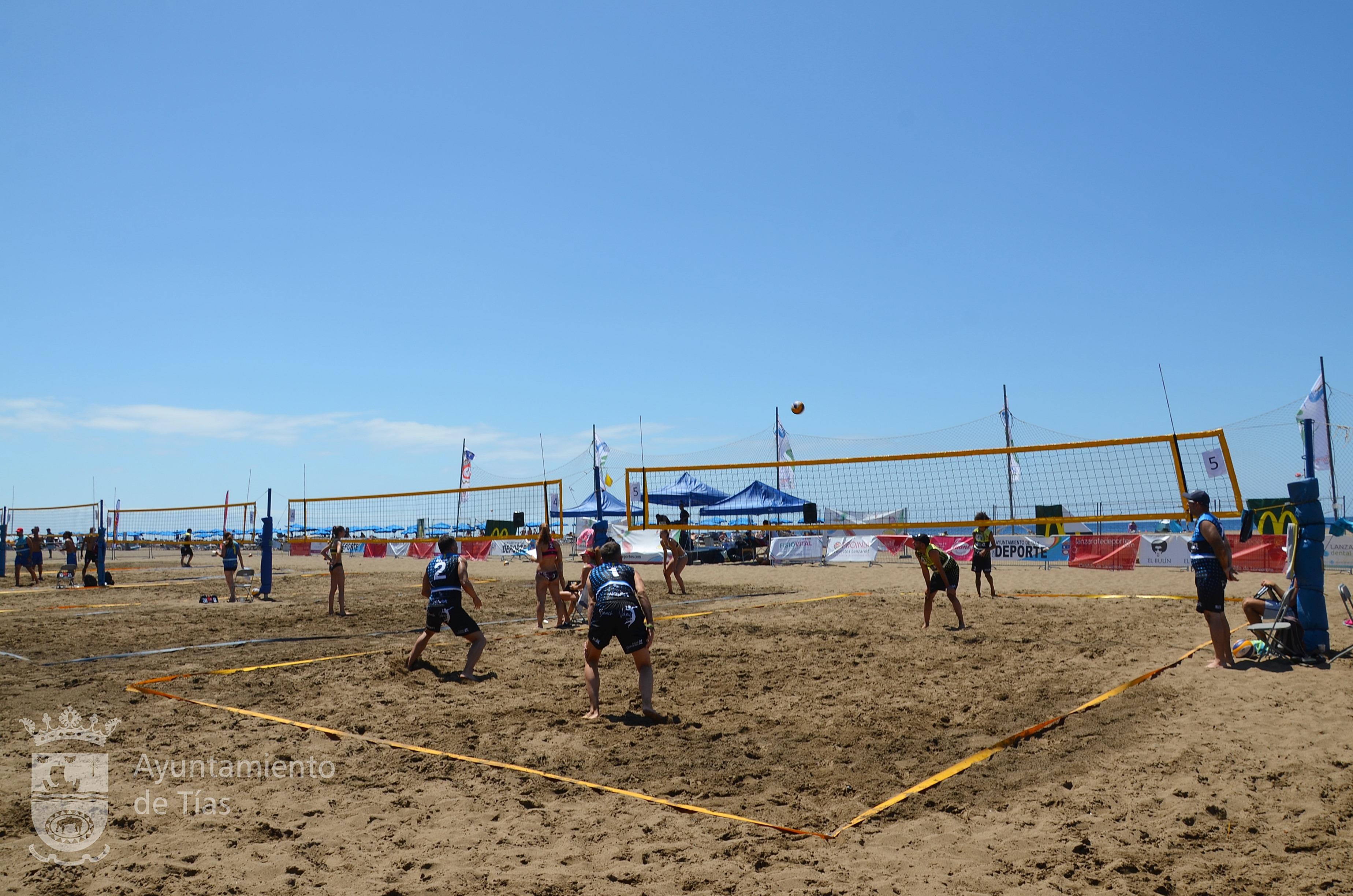 Lo mejor del Voley Playa de Canarias se concentró este fin de semana en Puerto del Carmen