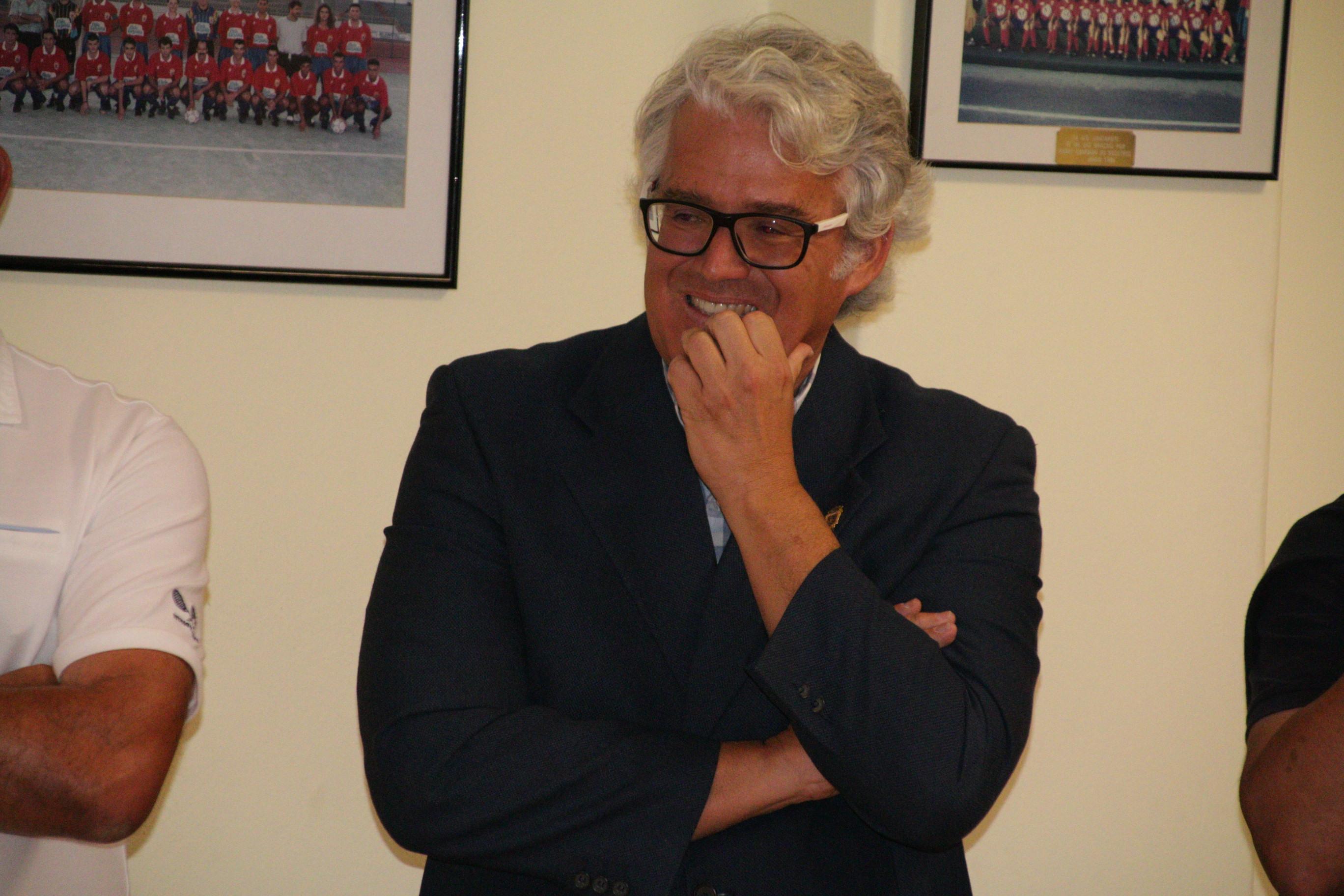 Claudio Doreste presenta su dimisión como presidente de la UD Lanzarote