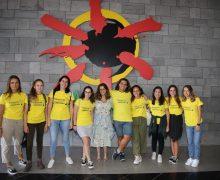 Jóvenes de la isla ponen rumbo a La Palma gracias al Programa 'Lanzarote conecta con Canarias'