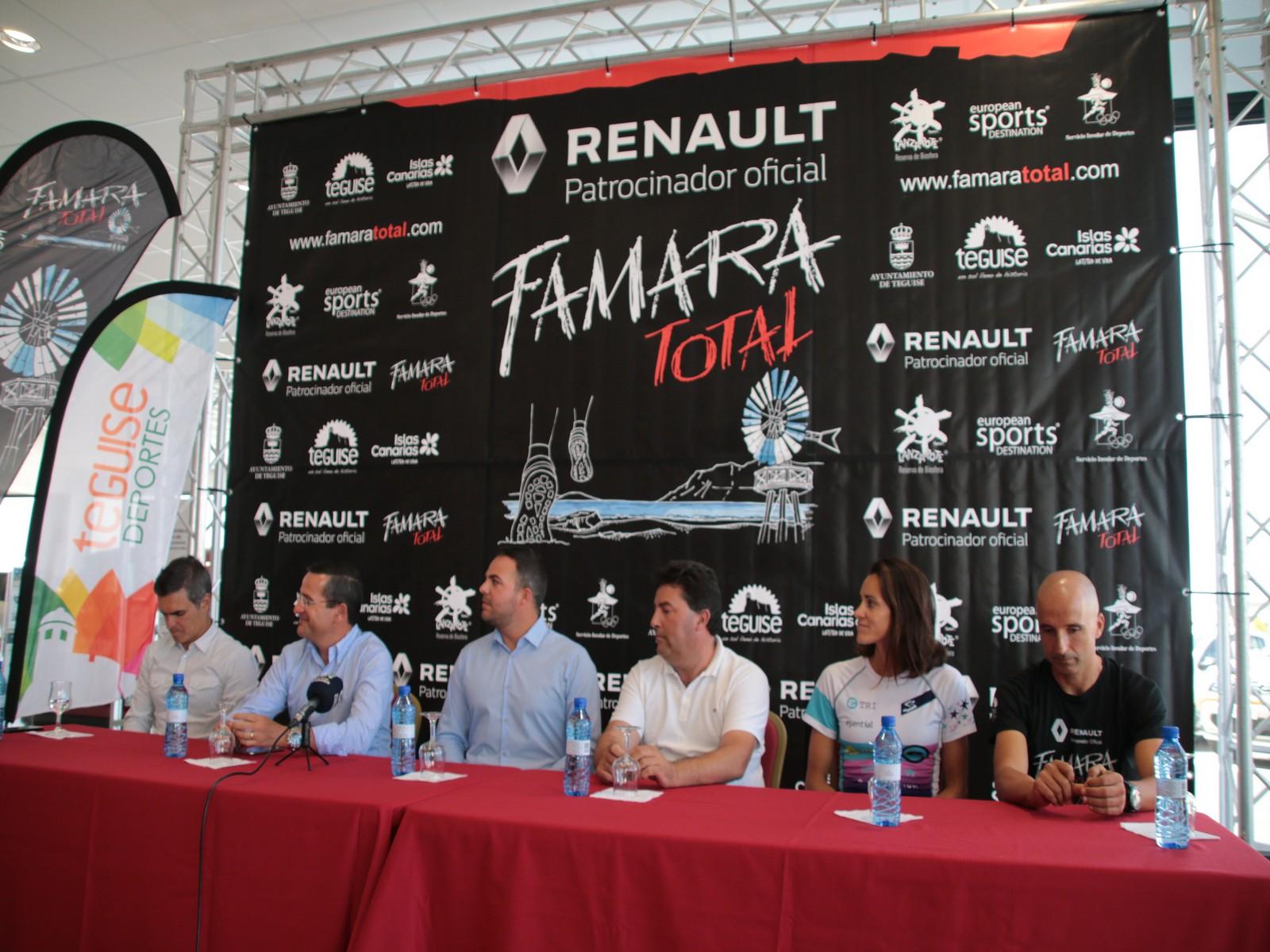 Todo preparado para la tercera edición de la Renault Vertical Famara Total