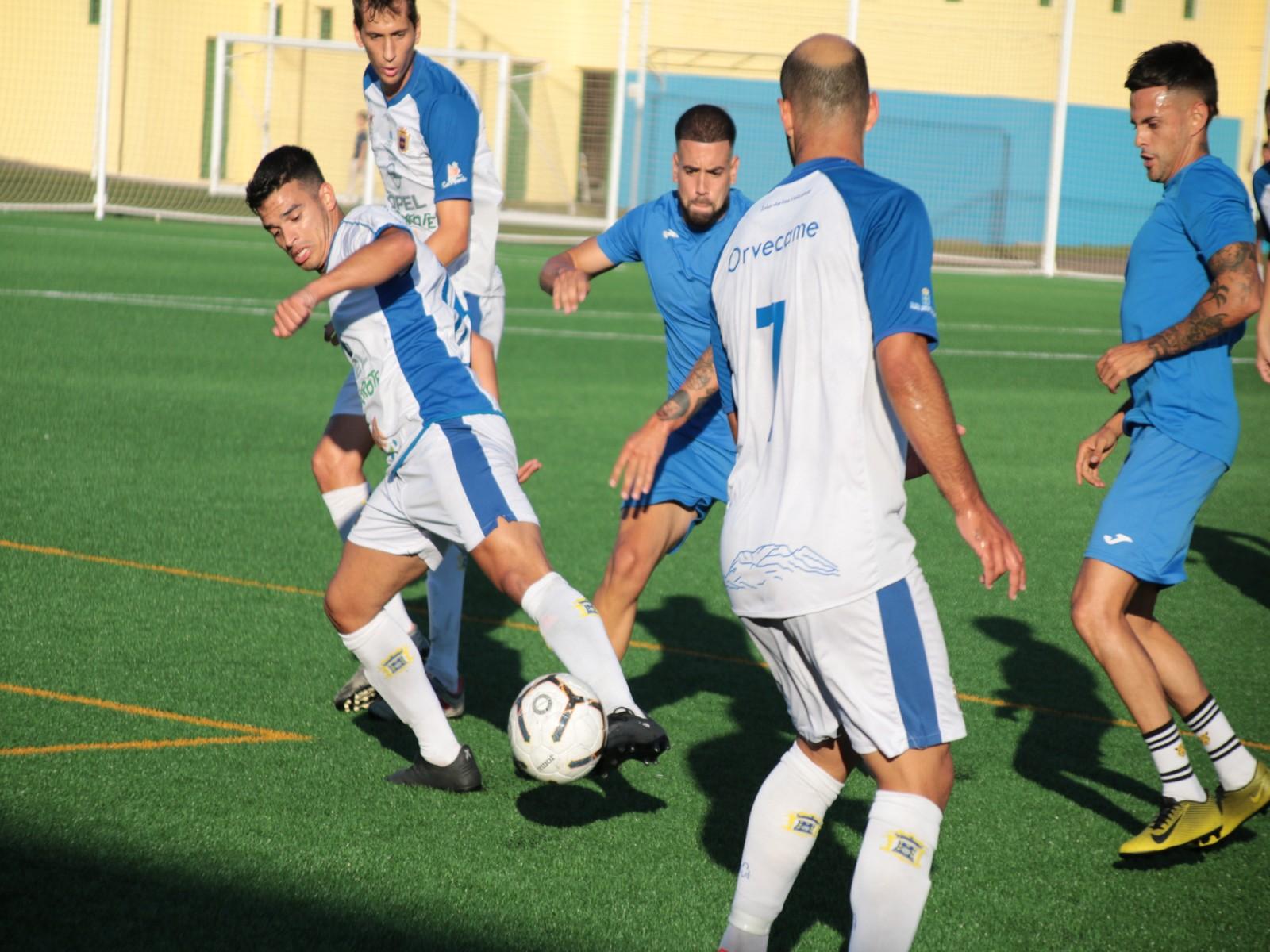 La UD Lanzarote se impone al Tahíche en el segundo partido de la pretemporada