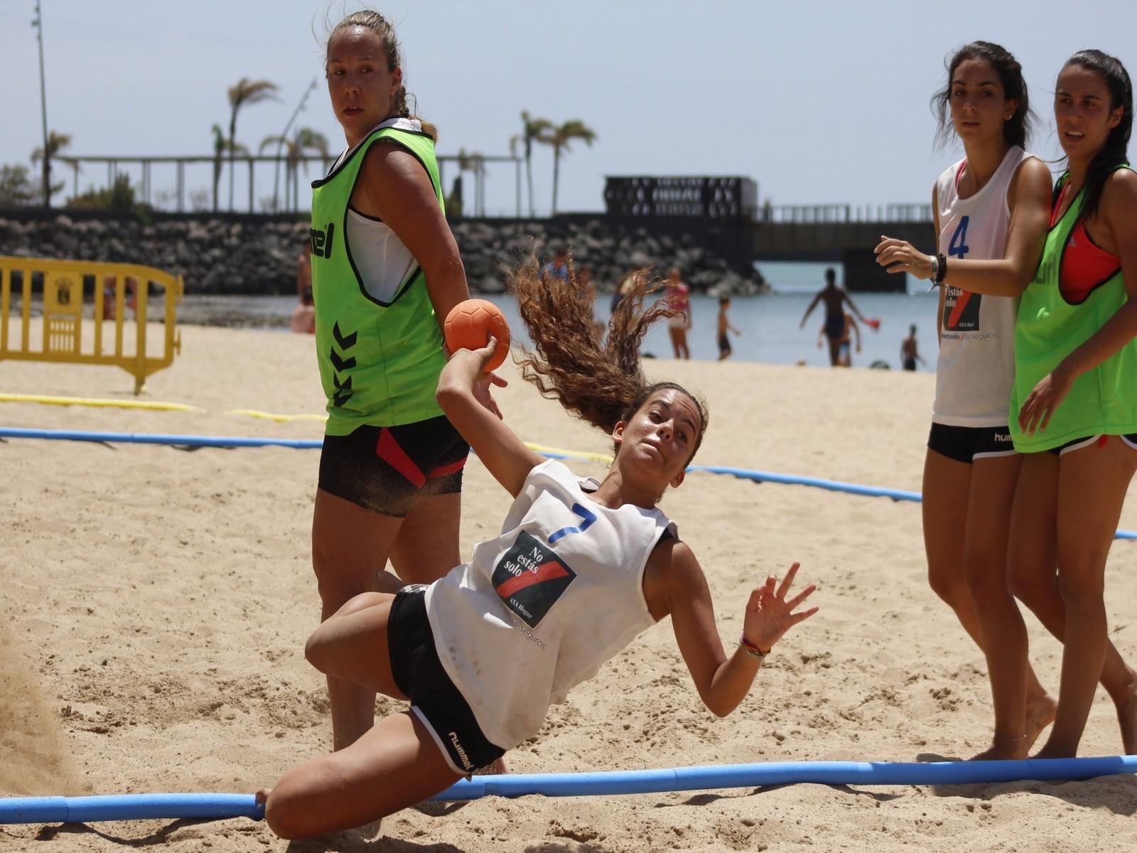 El Reducto acoge los días 17 y 18 de agosto el Torneo de Balonmano Playa