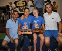 El júnior Luis Guadarfía Carreño y la infantil Kennedy Hope Denby vencedores de la XXV Travesía a Nado San Ginés