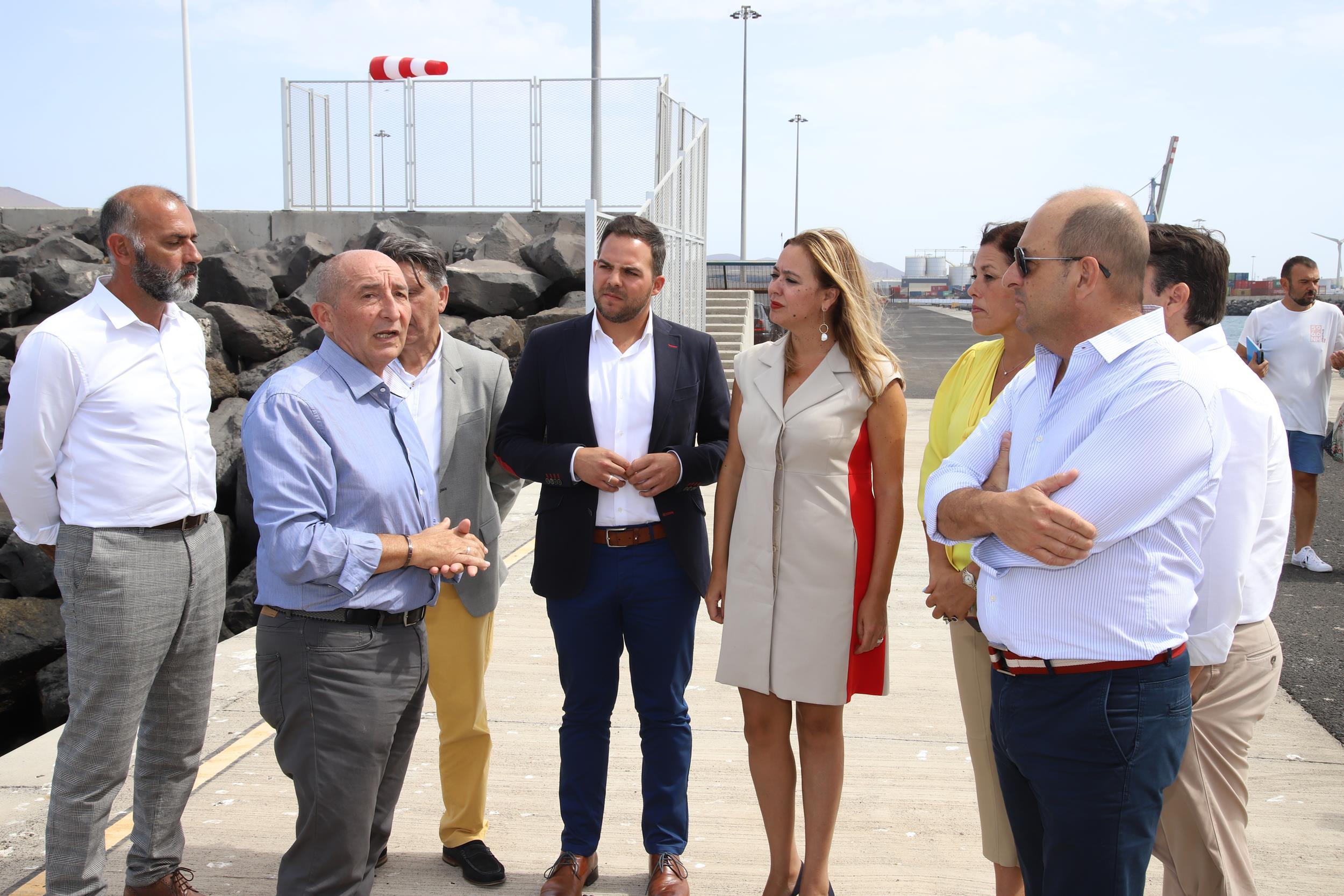 El Gobierno del Cabildo se congratula de contar con el nuevo dique Duque de Alba
