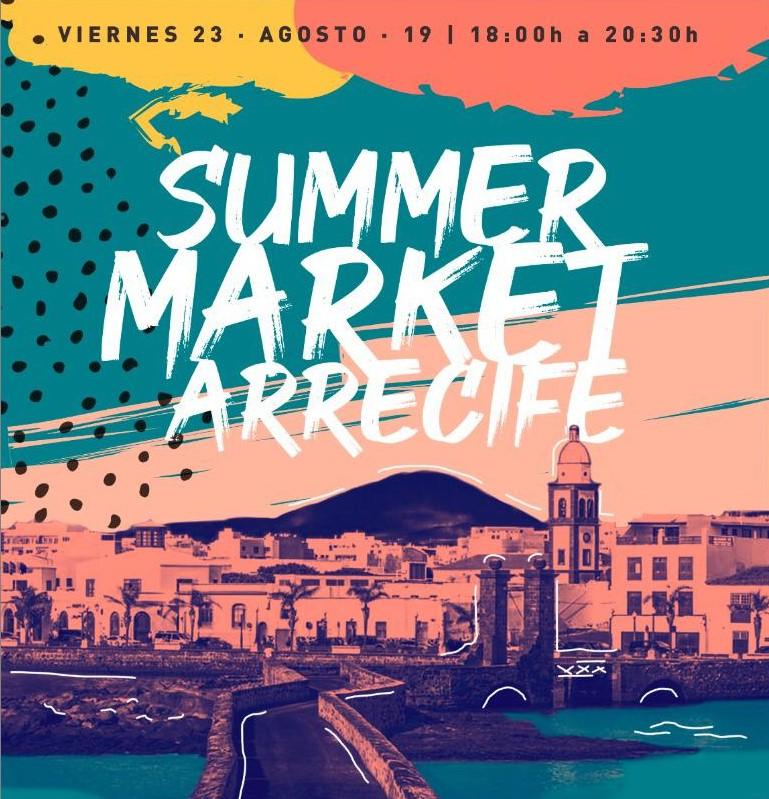 El Cabildo apoya el Summer Market Arrecife que potencia las Zonas Comerciales Abiertas