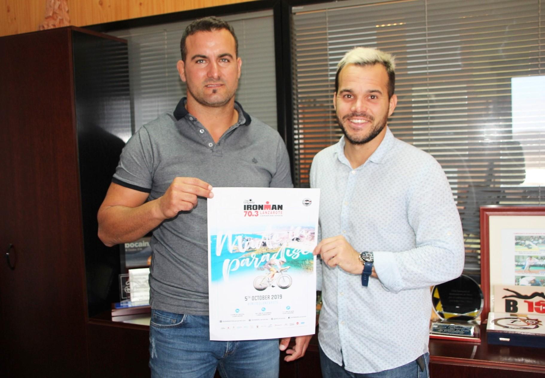 Yaiza y Club La Santa ultiman el Ironman 70.3 del 5 de octubre en Playa Blanca