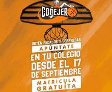 Se inicia una nueva temporada en la Escuela de Baloncesto del CB Conejero