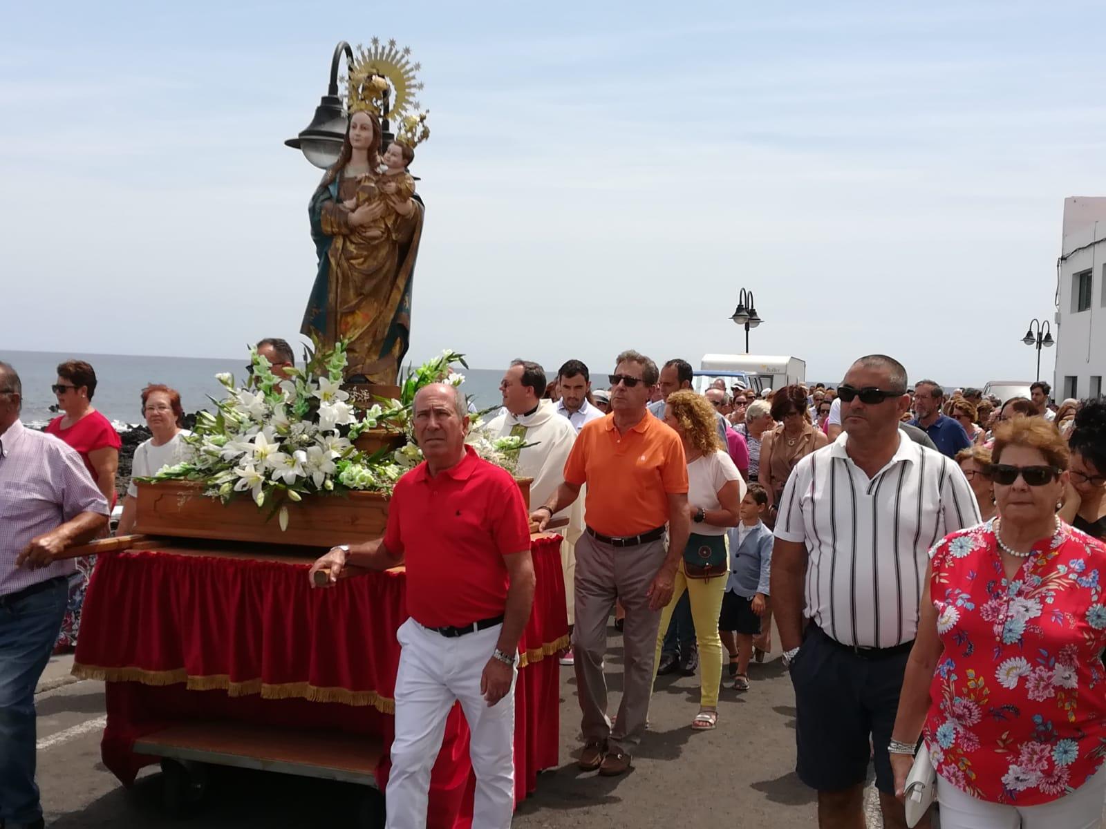 Finalizan las fiestas de Punta Mujeres más participativas