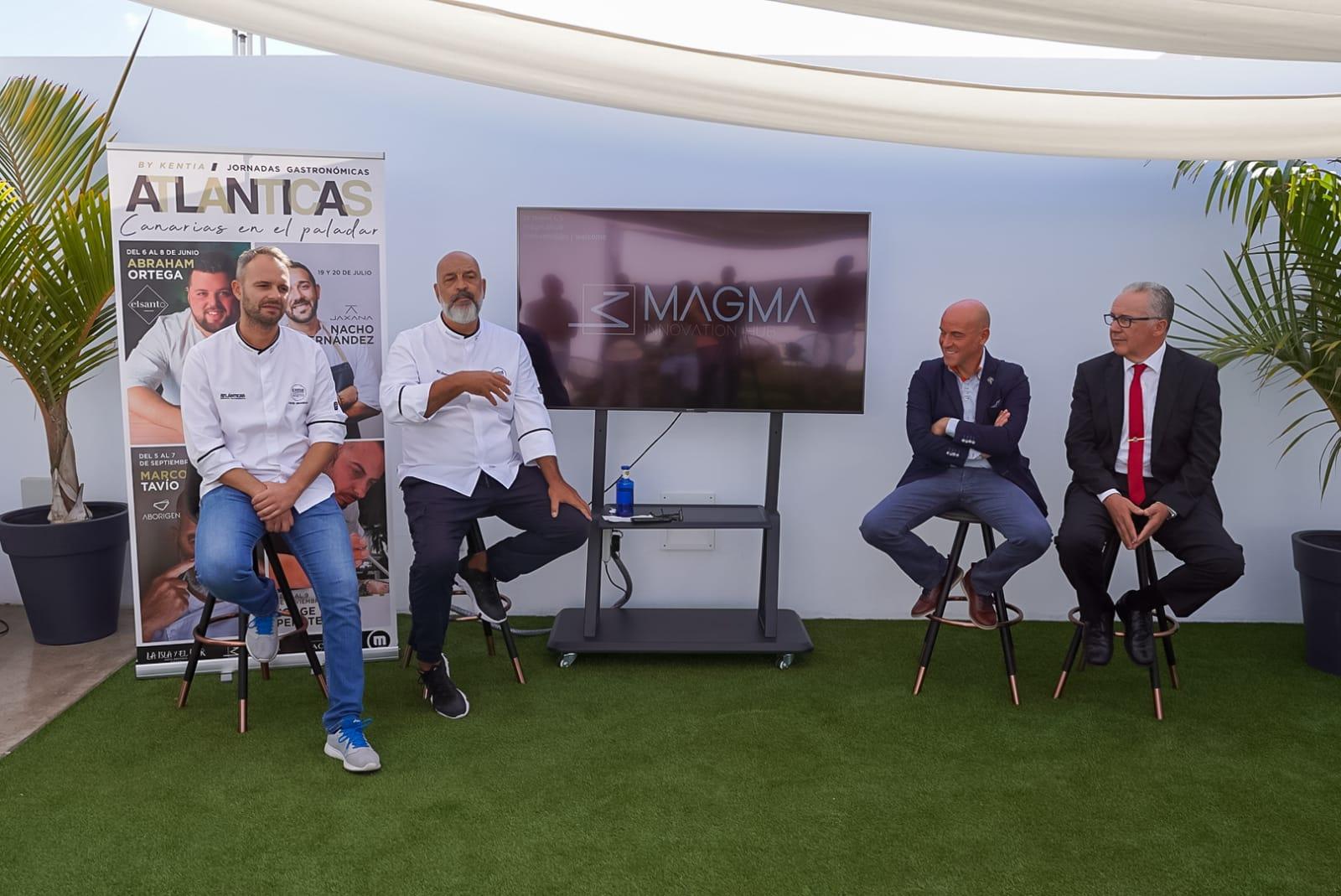 Kentia, de la mano del chef Marcos Tavío, presenta en Lanzarote su apuesta por el producto local y la historia de la cocina canaria