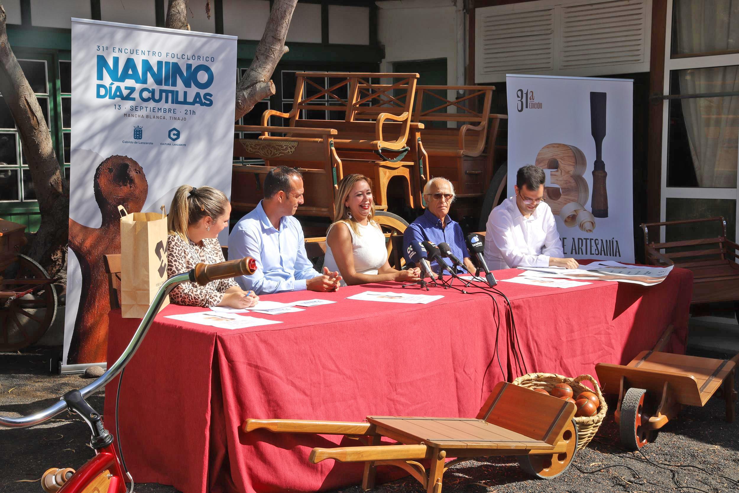 """Presentadas las 31ª ediciones de la Feria de Artesanía y del Festival Folcórico """"Nanino Díaz Cutillas"""""""
