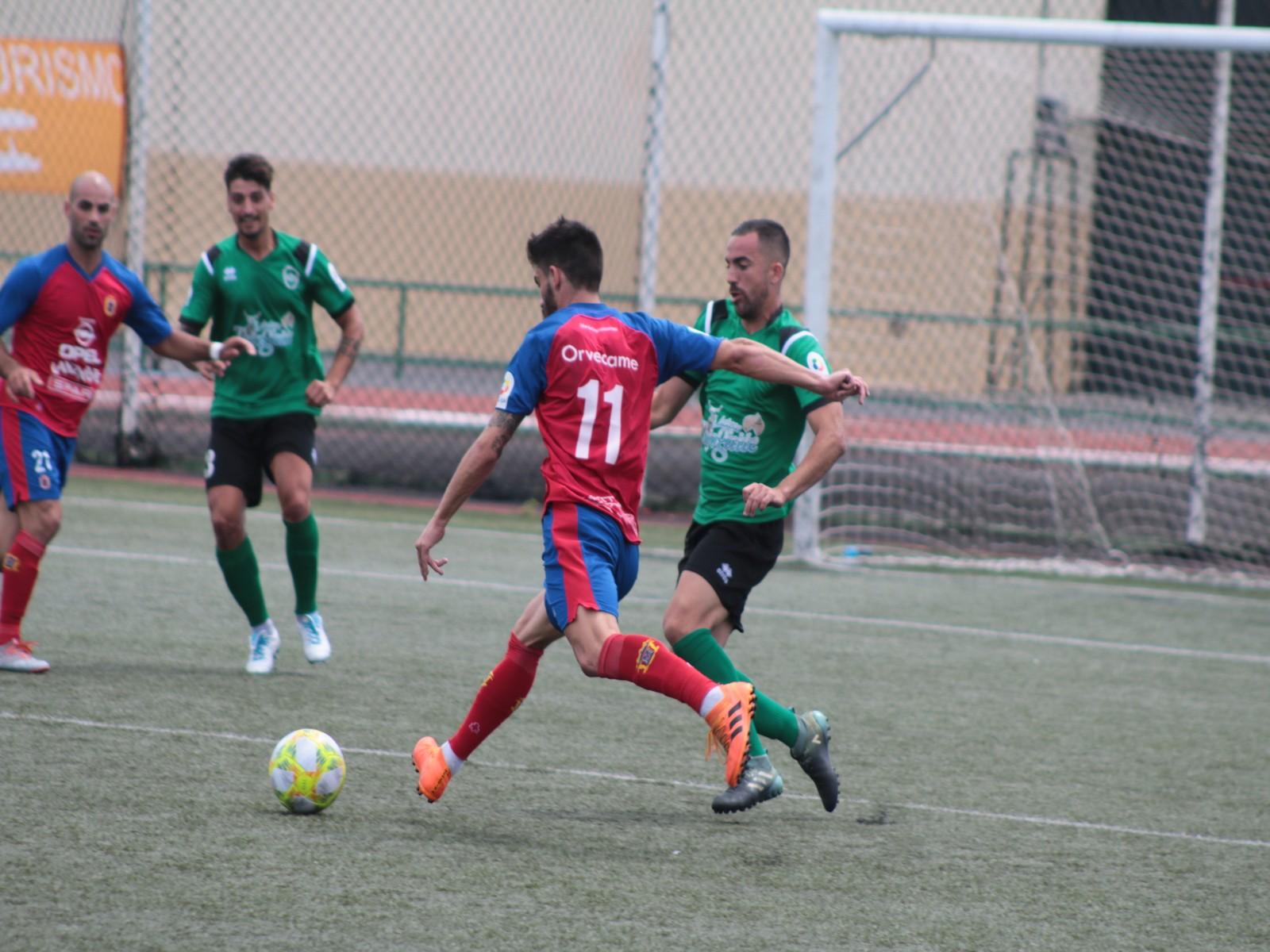 Tercer empate de la temporada para la UD Lanzarote (1-1)