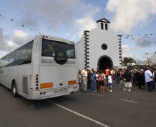 El Cabildo de Lanzarote habilita un servicio especial de guaguas para las Fiestas de Los Dolores