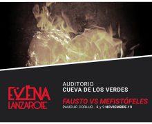 La Cueva de los Verdes acogerá el encuentro entre Pancho Corujo y el Diablo en la ópera 'Fausto vs Mefistófeles'