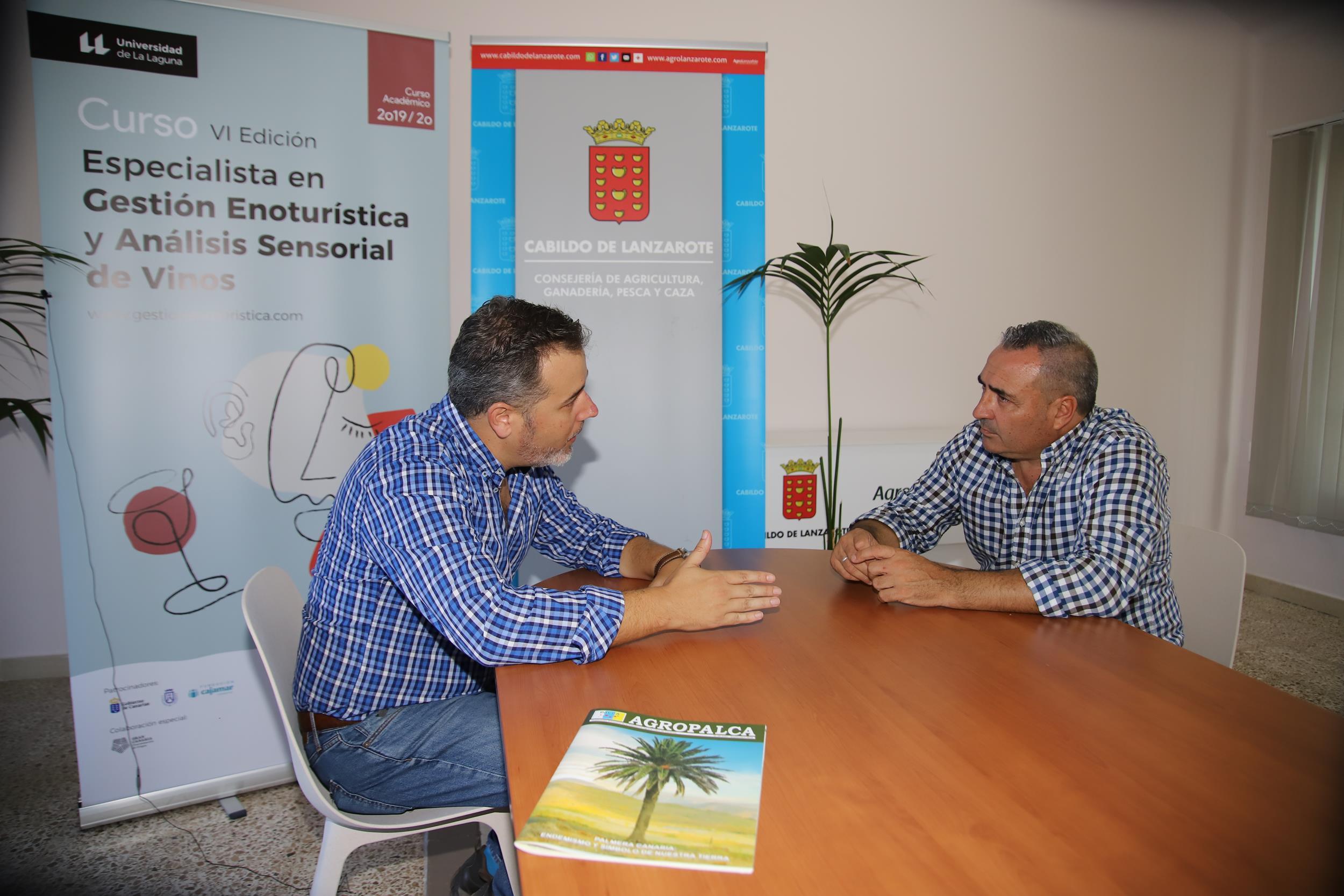 Lanzarote acoge el Taller 'Acercamiento al sector vitivinícola de Canarias' los próximos 8 y 9 de noviembre