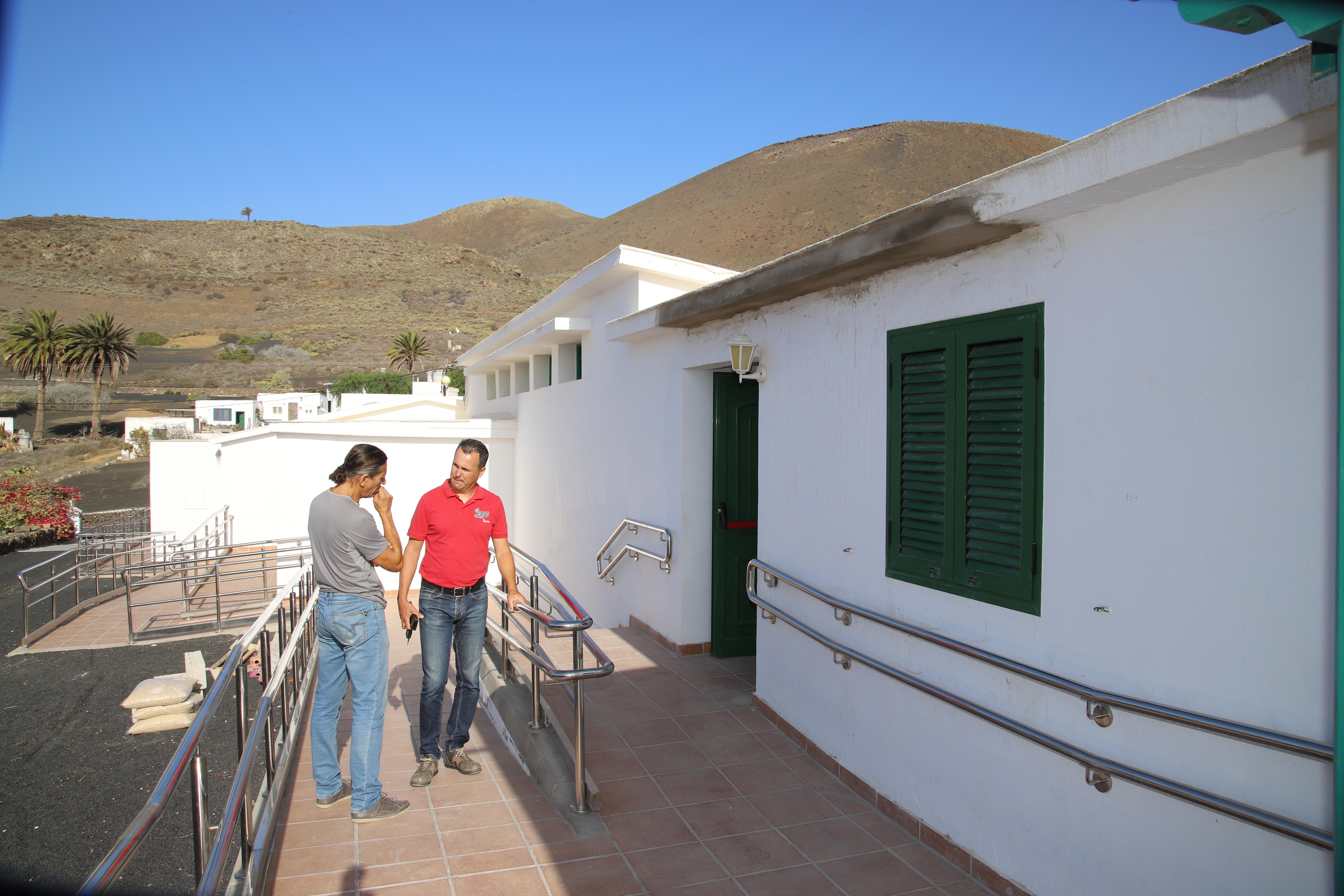 El Cabildo de Lanzarote rehabilita el Aula de la Naturaleza
