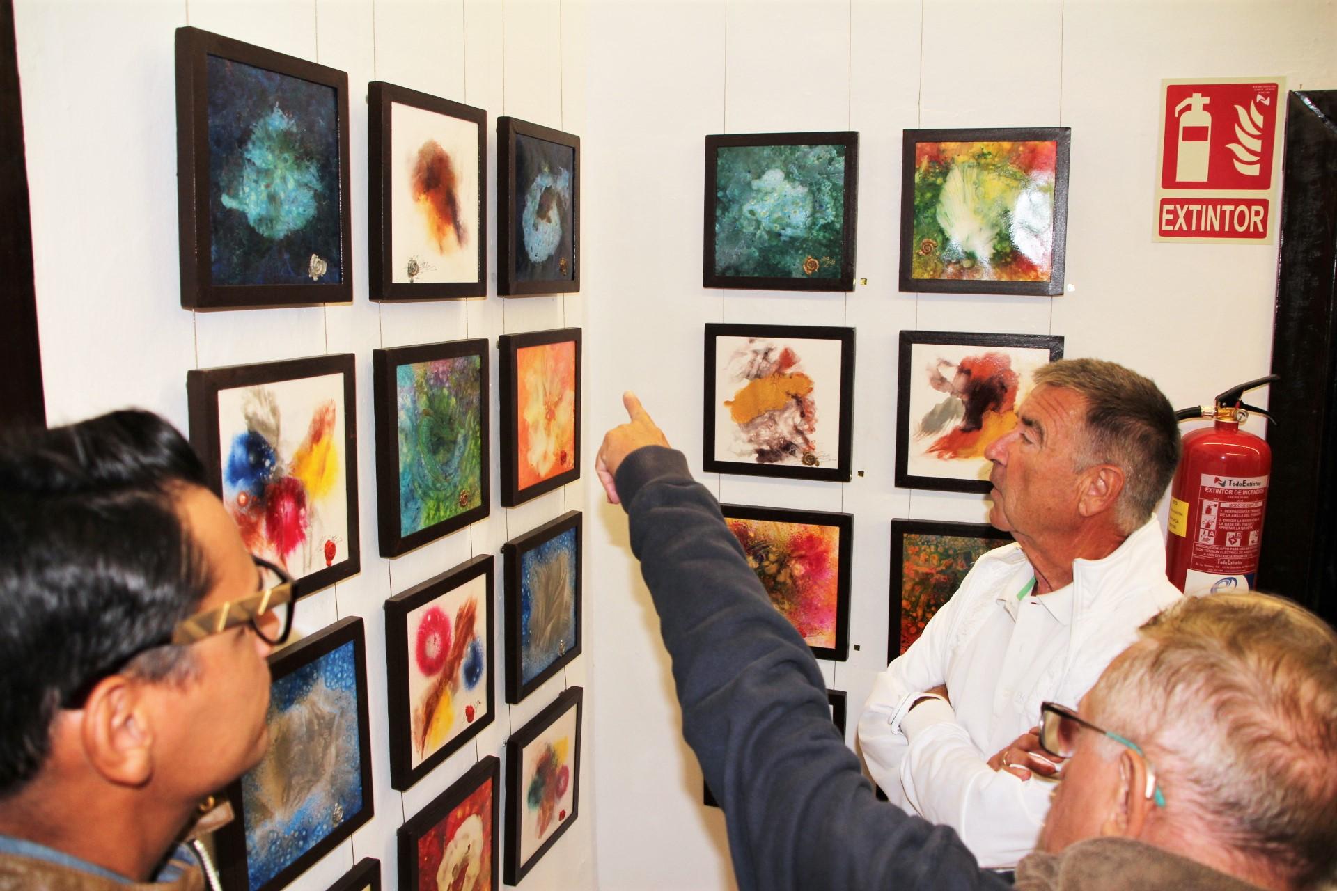Nueva erupción de colores de Christian Honerkamp en Yaiza