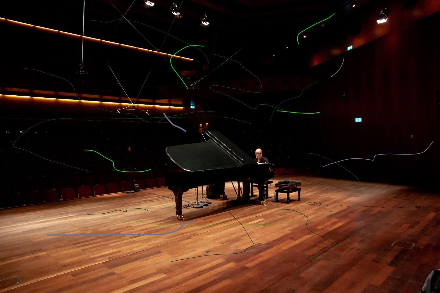 El piano de Jon Balke protagonizará la primera sesión del Festival de Música Visual de Lanzarote