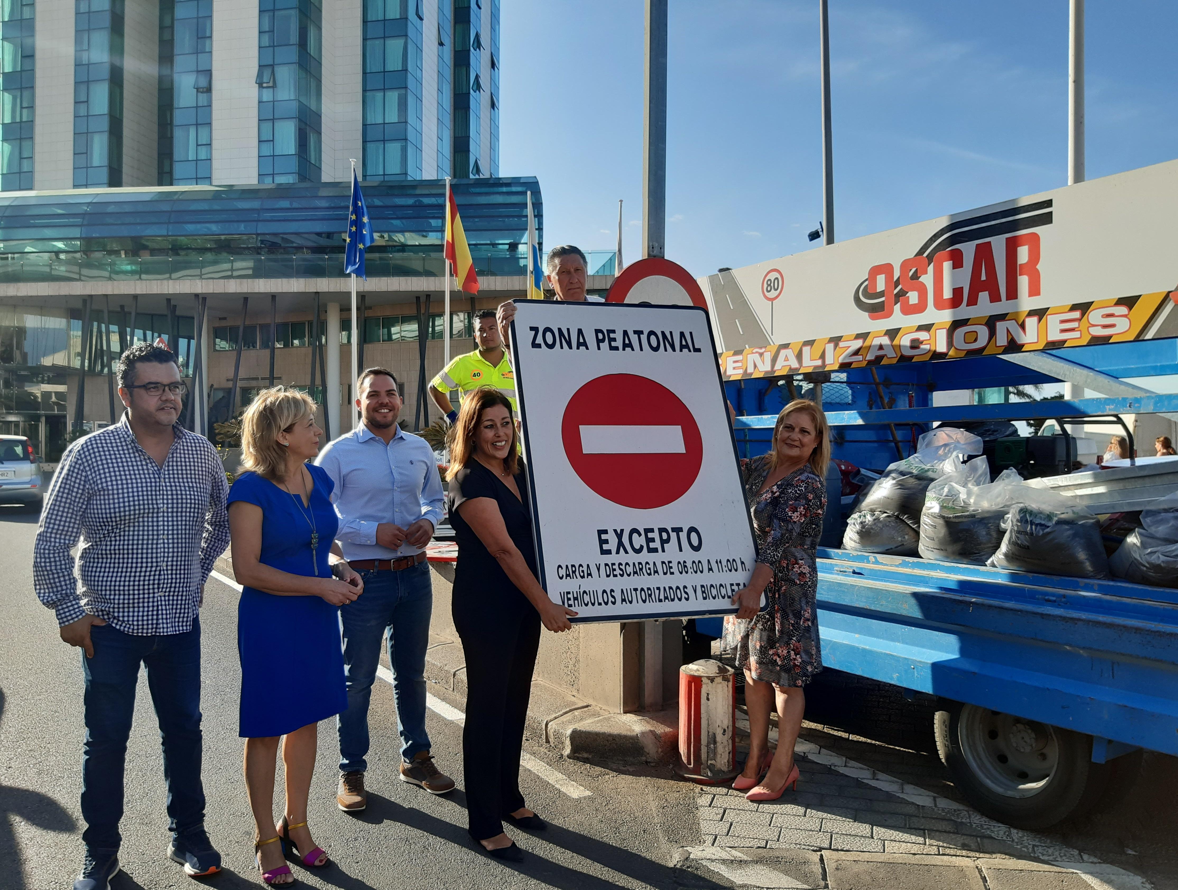 Desde las 6 horas del viernes quedará abierta al tráfico la Avenida Marítima de Arrecife, tras tres años cerrada