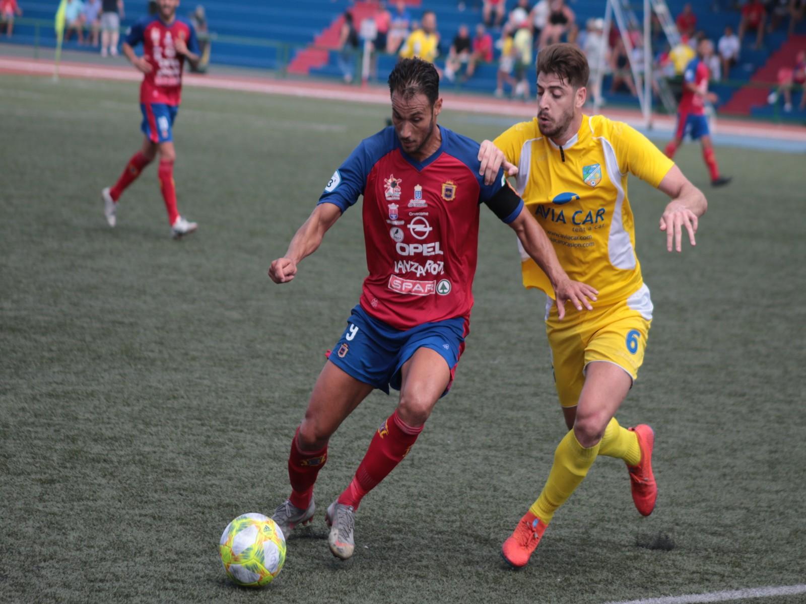 La UD Lanzarote cae por la mínima ante la UD San Fernando (0-1)