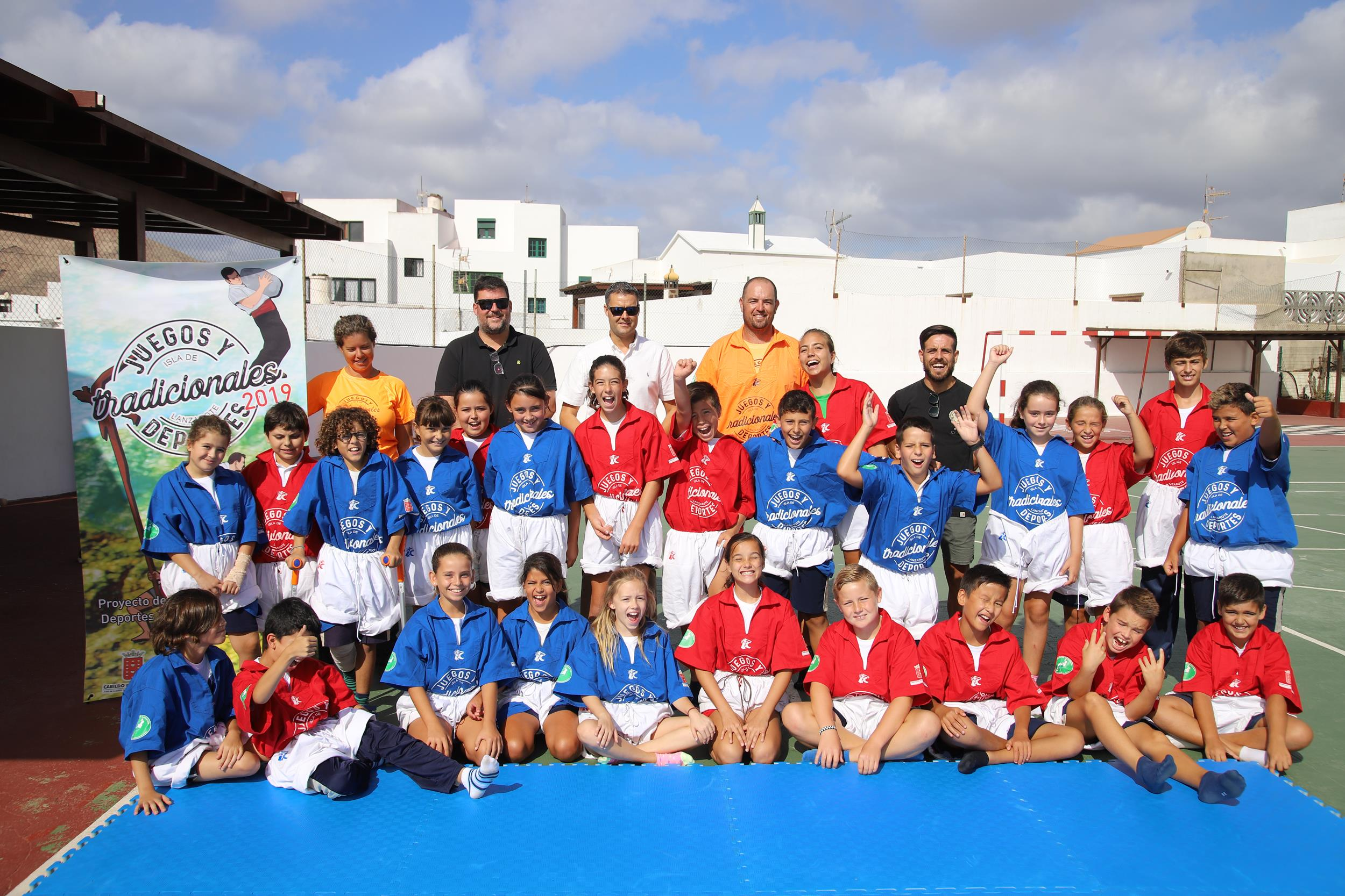 El Cabildo de Lanzarote divulga los juegos y deportes autóctonos entre el alumnado de Primaria de la isla