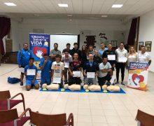 Tinajo prepara a cuarenta personas para salvar vidas en la Semana europea de concienciación del paro cardiaco