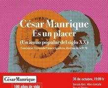 """La exposición """"César Manrique. Es un placer"""" será inaugurada en la FCM bajo la presidencia de S. M. El Rey"""