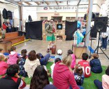 Arrecife celebró una divertida fiesta infantil en La Plazuela por el Día de la Infancia