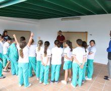 El Aula de la Naturaleza de Máguez inicia las actividades educativas medioambientales con escolares
