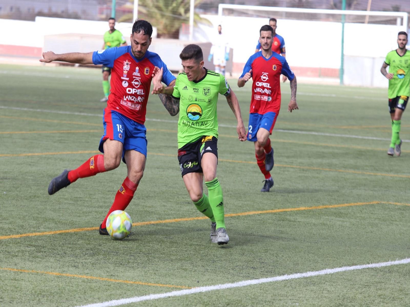 Derrota por la mínima de la UD Lanzarote ante la UD Gran Tarajal (1-0)