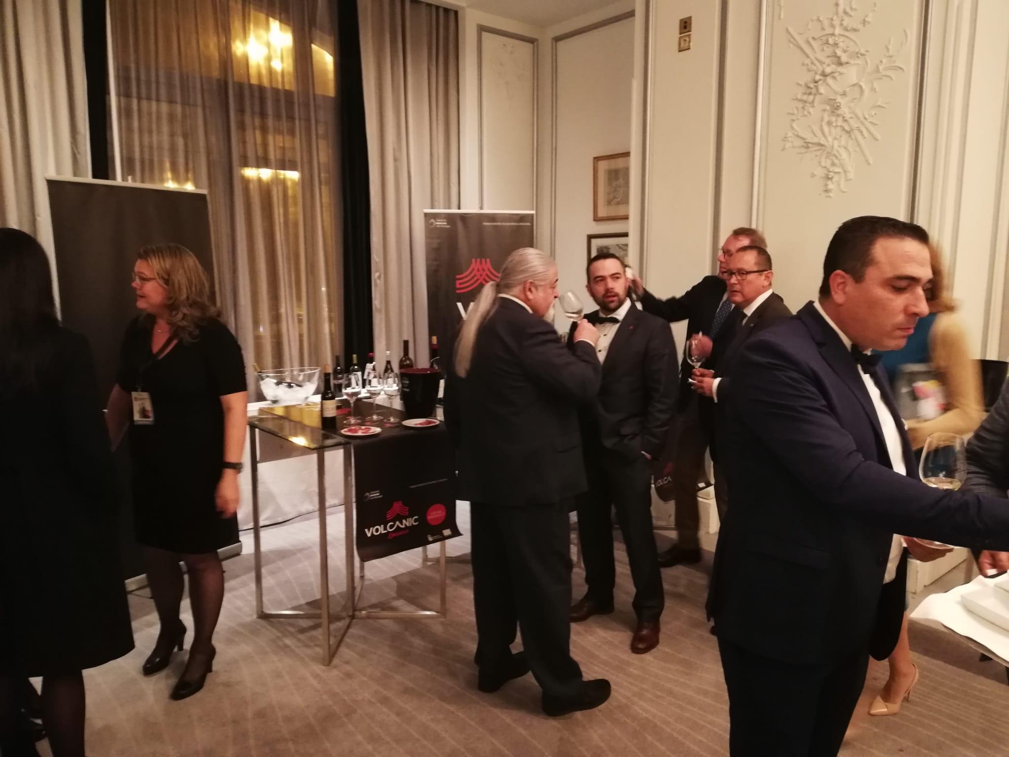 Los vinos canarios se promocionan en el certamen internacional Wine Challenge Merchant Awards Spain