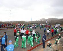 Comienza el XX Torneo de Bola Canaria de Madera 'Abuelos Conejeros' con la participación de más de 800 mayores